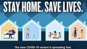 Stay home, save lives